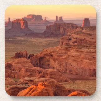 Dessous-de-verre Vallée de monument pittoresque, Arizona