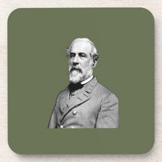 Dessous-de-verre Vert du Général Robert E. Lee Army