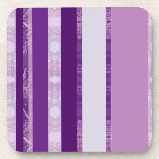 Dessous-de-verre violet