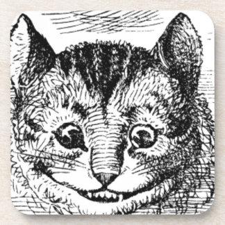 Dessous-de-verre Visage de chat de Cheshire