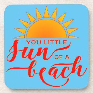 Dessous-de-verre Vous peu de Sun d'une plage