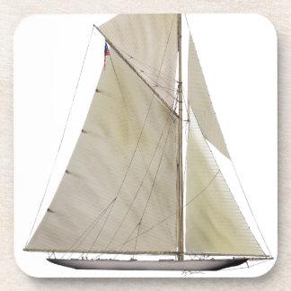 Dessous-de-verre yacht 1920 résolu
