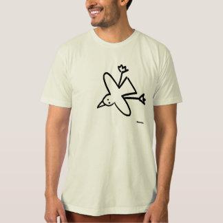 Dessus d'art : Dessin de mouette de tinctorial de T-shirt