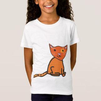 Dessus de chat de gingembre T-Shirt