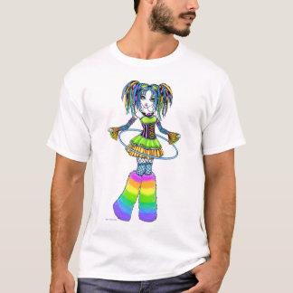 Dessus de Fae de cercle de danse polynésienne de T-shirt