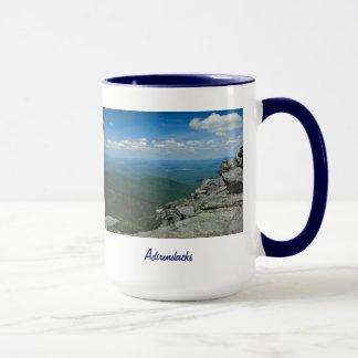 Dessus de montagne de Whiteface, Adirondacks, NY Mug