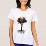 Dessus de Namaste Chakra T-shirt