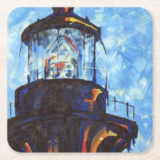 Dessus de phare de Bodie Dessous-de-verre Carré En Papier