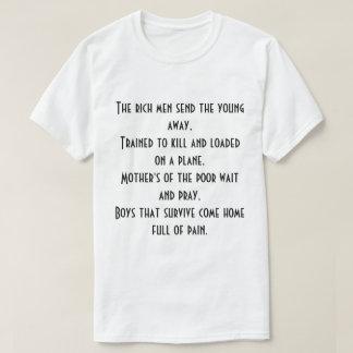 Dessus de poésie t-shirt