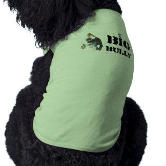 Dessus de réservoir à nervures de chienchien de gr manteaux pour chien