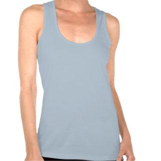 Dessus de réservoir de Chiro de ciel bleu Tee-shirt Sans Manches