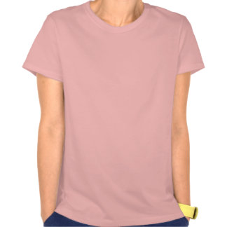 Dessus de réservoir rose et noir de jeune mariée t-shirt