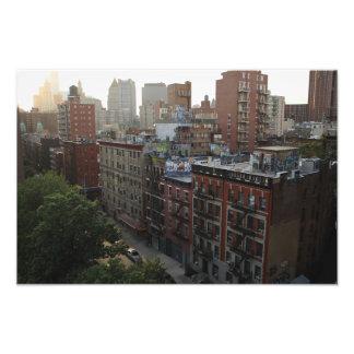 Dessus de toit de New York Photographie