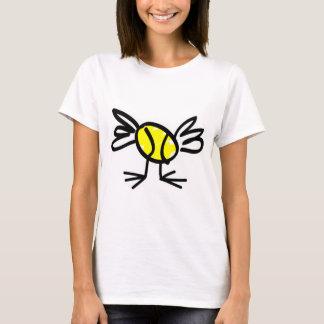 Dessus et T-shirts de poussin de tennis de