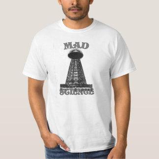 Dessus fou de la Science T-shirt