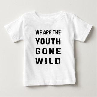 Dessus fou par jeunesse t-shirt pour bébé