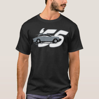 Dessus noir '55 Chevy de 2 ruelles T-shirt