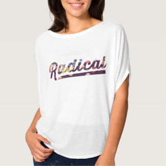 Dessus radical floral t-shirt
