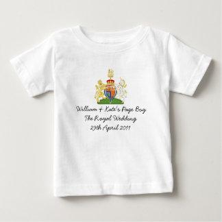 """Dessus royal britannique de souvenir de """"garçon de t-shirt pour bébé"""