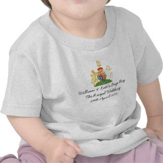 """Dessus royal britannique de souvenir de """"garçon de t-shirts"""
