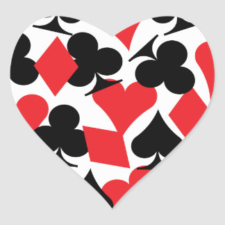 Destin Las Vegas épousant l'autocollant de coeur Sticker Cœur