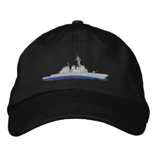 Destroyer naval casquette brodée