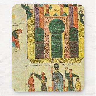 Destruction du premier temple par Nebuchadnezzar Tapis De Souris