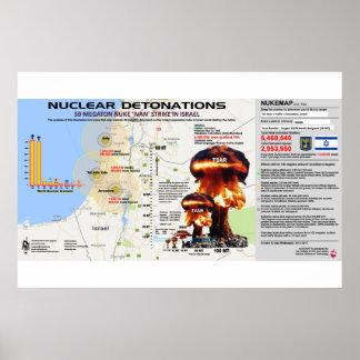 Det0nations nucléaires - L'Israël 1 Poster