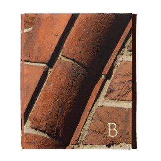Détail architectural de brique historique coque folio iPad