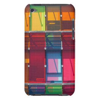 Détail commercial multicolore de bâtiment coques iPod touch