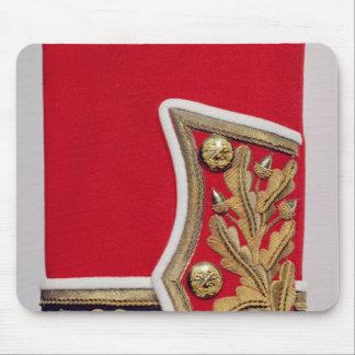 Détail de douille d'un uniforme d'armée britanniqu tapis de souris