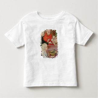 Détail de la présentation dans le temple t-shirt pour les tous petits