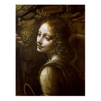 Détail de l'ange, de la Vierge du Cartes Postales