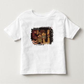 Détail de tissu d'enterrement, tribu de Paracas T-shirt Pour Les Tous Petits