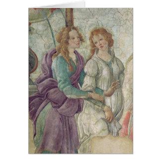 Détail de Vénus et des grâces Cartes