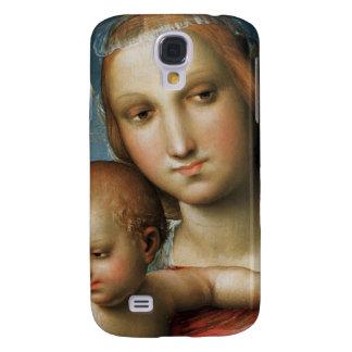 Détail de <Virgin and Child> ributed à Rapha Coque Galaxy S4