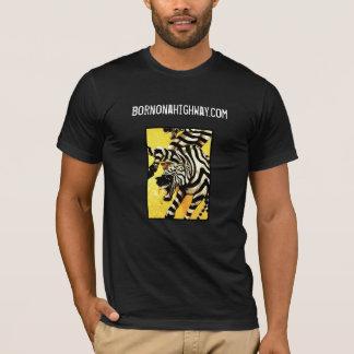 Détail des racines, bornonahighway.com t-shirt