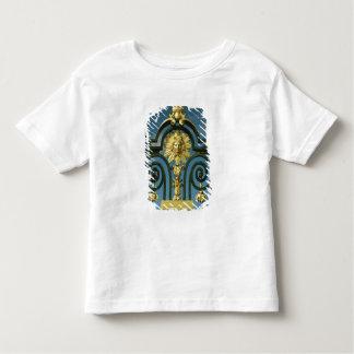 Détail du d'honneur de gril t-shirt pour les tous petits