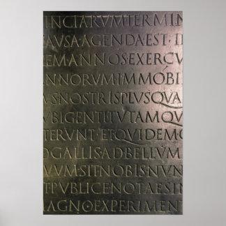 Détail du Tableau de Claudian Posters