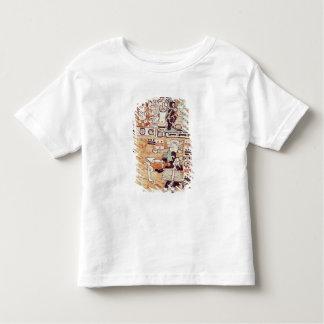 Détail d'un codex maya t-shirt pour les tous petits