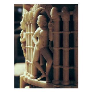 Détail d'un pilier, ANNONCE c.1230 Carte Postale