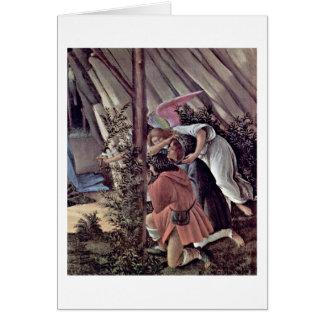 Détail : La nativité mystique par Sandro Cartes