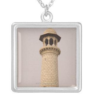 Détail, le Taj Mahal, Âgrâ, uttar pradesh, Inde Collier