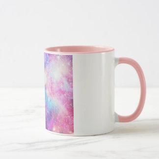 Detalhe rosa de COM de Caneca Galáxia Tasse