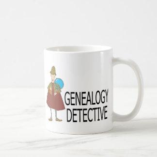 Détective de généalogie mug
