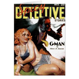 """Détective épicé - carte de """"G-Man"""""""