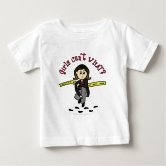 Détective léger de CSI T-shirt Pour Bébé