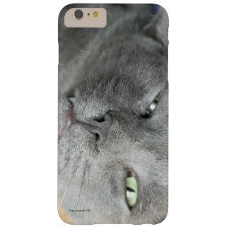 Détendez ! Caisse de ronronnement grise de Coque iPhone 6 Plus Barely There