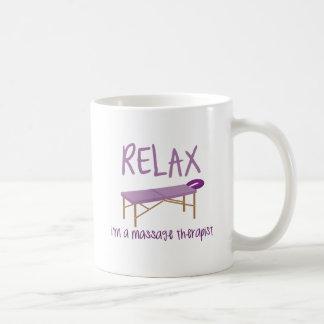 Détendez le Tableau de massage Mug