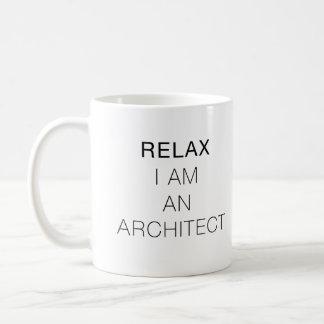 Détendez-moi suis un architecte mug